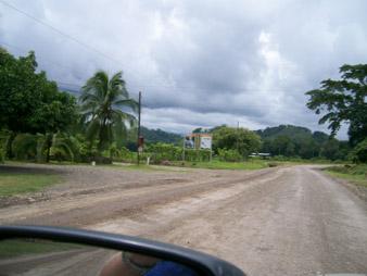 Links abbiegen Richtung Canopy.