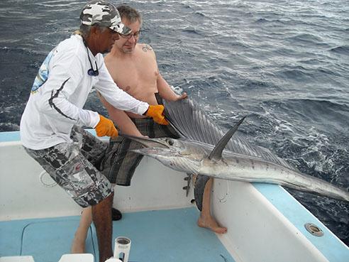 Fischerausrüstung